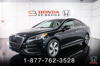 Used 2017 Hyundai Sonata PLUG-IN + ULTIMATE + NAVI + CUIR + WOW! for sale in St-Basile-le-Grand, QC