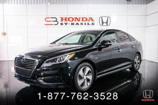 Used 2017 Hyundai Sonata PLUG-IN + ULTIMATE + NAVI + CUIR + WOW! for sale in St-Basile-le-Grand, QC