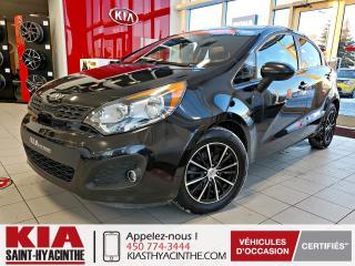 Used 2013 Kia Rio 5 LX+ * SIÈGES CHAUFFANTS / BLUETOOTH for sale in St-Hyacinthe, QC