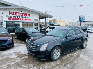 Used 2011 Cadillac CTS Sedan Leather for sale in Regina, SK