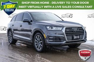 Used 2019 Audi Q7 55 Progressiv LIKE NEW LOADED LUXURY | 7 PASSENGER for sale in Innisfil, ON