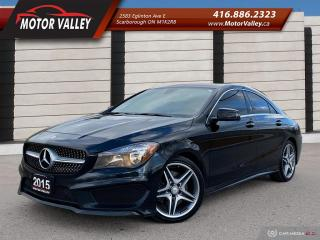 Used 2015 Mercedes-Benz CLA-Class CLA250 4MATIC AMG PKG! NAVIGATION - NO ACCIDENT! for sale in Scarborough, ON