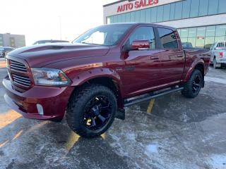 Used 2017 RAM 1500 SPORT for sale in Saskatoon, SK