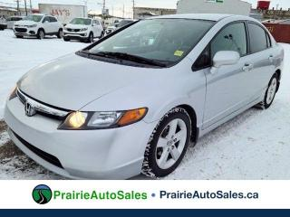 Used 2007 Honda Civic Sdn LX for sale in Moose Jaw, SK