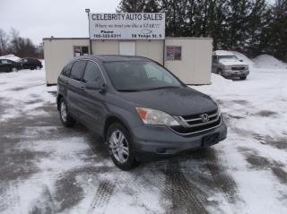 Used 2010 Honda CR-V AWD  EXL for sale in Elmvale, ON
