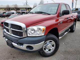 Used 2008 Dodge Ram 2500 LOCAL, ACCIDENT FREE, SLT for sale in Surrey, BC