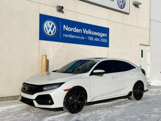 Used 2018 Honda Civic Hatchback Sport Touring - Hatchback/Leather/Sunroof/Loaded!! for sale in Edmonton, AB