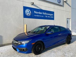 Used 2018 Honda Civic COUPE Touring - Leather/Sunroof/Drive assist for sale in Edmonton, AB