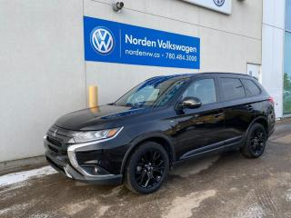Used 2019 Mitsubishi Outlander SE BLACK EDITION! LEATHER / HTD SEATS + HTD WHEEL! for sale in Edmonton, AB
