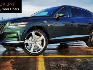 New 2021 Genesis GV80 3.5T Prestige AWD for sale in Edmonton, AB