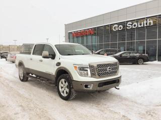 Used 2016 Nissan Titan XD PLATINUM, 4X4, LEATHER, NAVIGATION for sale in Edmonton, AB