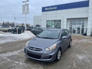 Used 2016 Hyundai Accent LE AUTO/HATCH/AUX/CD/AC/TILT for sale in Edmonton, AB