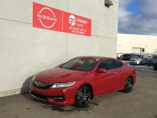 Used 2016 Honda Accord Coupe Touring / V6 / Sunroof / Manual / Loaded for sale in Edmonton, AB