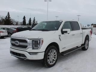 New 2021 Ford F-150 Limited | Hybrid | HeatedCooled Leather | Twin Panel Moonroof for sale in Edmonton, AB