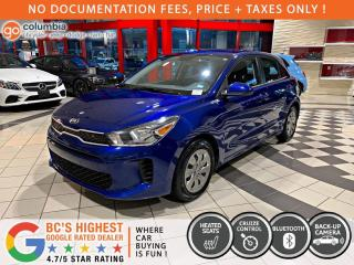Used 2020 Kia Rio 5-Door LX+ - Accident Free / No Dealer Fees / Heated Seats for sale in Richmond, BC