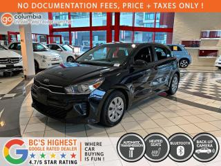 Used 2020 Kia Rio 5-Door LX - Accident Free / Local / One Owner / No Dealer Fees for sale in Richmond, BC