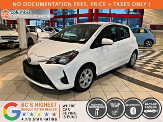 Used 2019 Toyota Yaris Hatchback LE - Local / One Owner / No Dealer Fees for sale in Richmond, BC