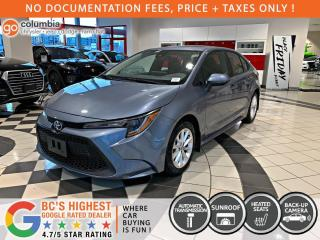 Used 2020 Toyota Corolla LE - No Accident / Local / Sunroof / No Dealer Fees for sale in Richmond, BC