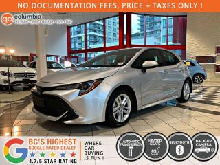 Used 2019 Toyota Corolla Hatchback SE - Local / No Dealer Fees / Heated Seats for sale in Richmond, BC