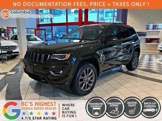 Used 2017 Jeep Grand Cherokee Limited 75th Anniversary for sale in Richmond, BC