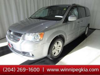 Used 2016 Dodge Grand Caravan Crew *Always Owned In MB!* for sale in Winnipeg, MB