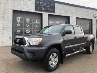 Used 2012 Toyota Tacoma SR-5 V6 Clean Carfax Reverse Cam for sale in Guelph, ON