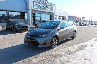 Used 2017 Toyota Corolla LE CVT for sale in Calgary, AB