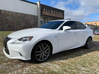 Used 2016 Lexus IS 350 F-SPORT3 RED INTERIOR NAVI REAR VIEW CAM  BSM for sale in North York, ON