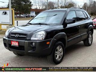 Used 2008 Hyundai Tucson GL|LOW KM|NO ACCIDENT|4WD|WARRANTY|CERTIFIED for sale in Oakville, ON