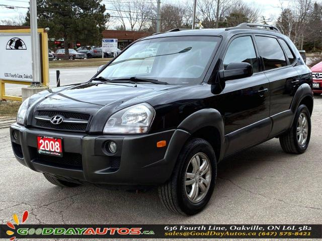 2008 Hyundai Tucson GL|LOW KM|NO ACCIDENT|4WD|WARRANTY|CERTIFIED