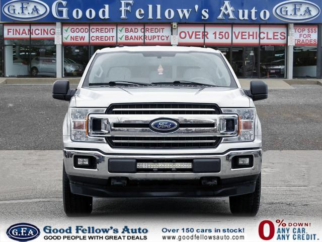 2018 Ford F-150 XLT SUPER CREW, RAERVIEW CAMERA, 6 PASSENGER, 4WD