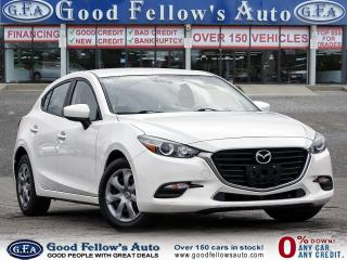 Used 2017 Mazda MAZDA3 SPORT GX, BACKUP CAM, ONSTAR, SKYACTIV, BLUETOOTH for sale in Toronto, ON