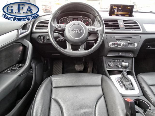 2017 Audi Q3 KOMFORT, AWD, LEATHER & HEATED SEATS, SUNROOF, 2LT