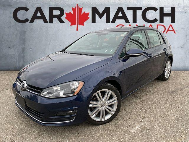 2015 Volkswagen Golf COMFORTLINE /  SUNROOF / NO ACCIDENTS