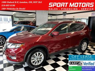 Used 2018 Nissan Rogue SV+SafetyShield+BlindSpot+ApplePlay+ACCIDENT FREE for sale in London, ON