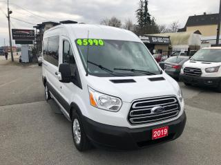 Used 2019 Ford Transit 150 XLT 3.7L V6 6 SPD AUTO 10 PASS for sale in Langley, BC