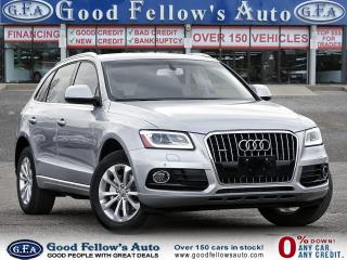 Used 2017 Audi Q5 PROGRESSIV AWD, NAVIGATION, LEATHER SEATS, PANROOF for sale in Toronto, ON