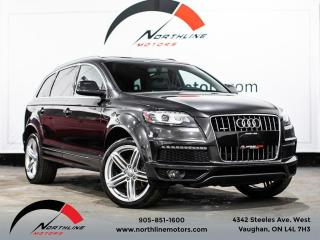 Used 2013 Audi Q7 3.0T Prestige/S-Line/7 Passenger/Navigation/Pano for sale in Vaughan, ON