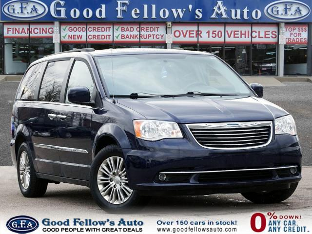 2015 Chrysler Town & Country STOW & GO, SUNROOF, LEATHER & HEATED SEATS, AWD
