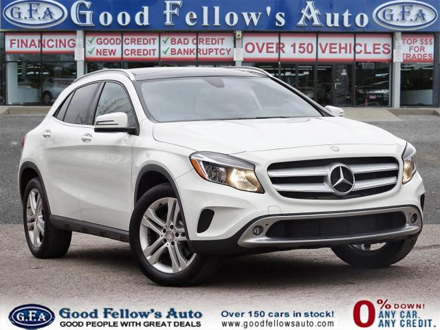 2017 Mercedes-Benz GLA 4MATIC, NAVIGATION, LEATHER SEATS, HEATED SEATS