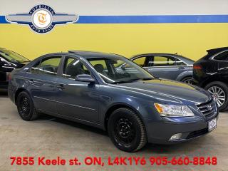 Used 2010 Hyundai Sonata Sport Pkg, Sunroof, 2 Years Warranty for sale in Vaughan, ON