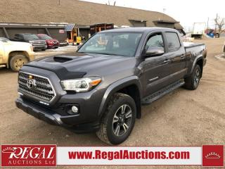 Used 2016 Toyota Tacoma TRD Sport DOUBLE CAB 4X4 AT 3.5L for sale in Calgary, AB