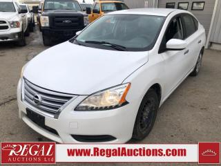 Used 2014 Nissan Sentra S 4D Sedan 1.8L for sale in Calgary, AB