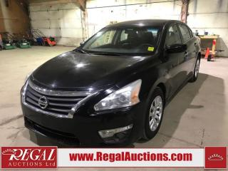 Used 2014 Nissan ALTIMA  4D SEDAN 2.5 AT FWD for sale in Calgary, AB