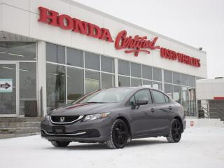Used 2015 Honda Civic EX | SUNROOF | BLUETOOTH | for sale in Winnipeg, MB