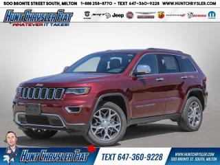 New 2021 Jeep Grand Cherokee LIMITED 4X4 for sale in Milton, ON