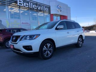 Used 2017 Nissan Pathfinder SL AWD LEATHER, SUNROOF, NAVIGATION, 1 OWNER for sale in Belleville, ON