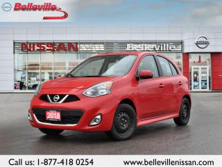 Used 2018 Nissan Micra SR ONE OWNER LOCAL TRADE for sale in Belleville, ON
