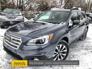 Used 2016 Subaru Outback 2.5i Limited Package ONLY 86KKMS!!  TECH PKG  LEAT for sale in Ottawa, ON