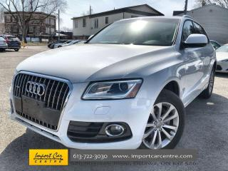 Used 2017 Audi Q5 2.0T Progressiv LEATHER  ROOF  NAVI  BACKUP CAM  H for sale in Ottawa, ON